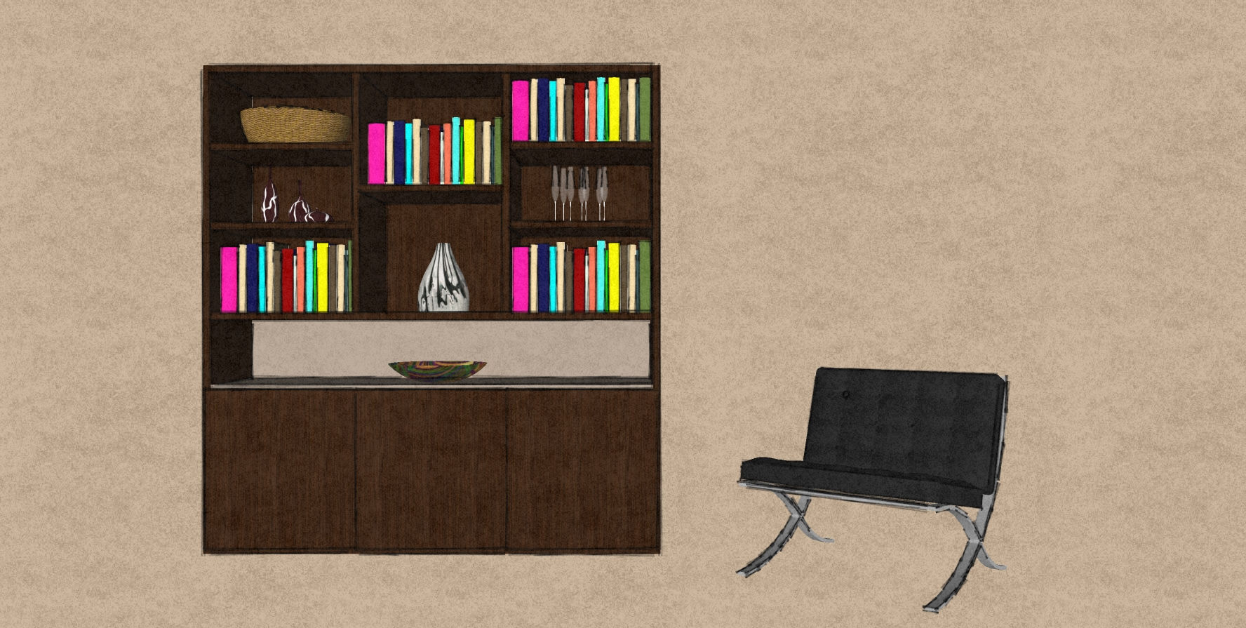 D11 living room display cabinet Therm Oak and matt lacquer.jpg