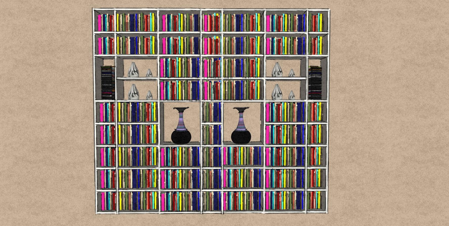 D1 Plain white matt bookcase with open back.jpg
