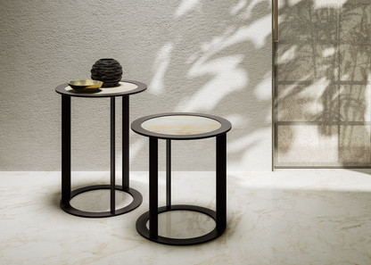 Jesse Scott circular side table