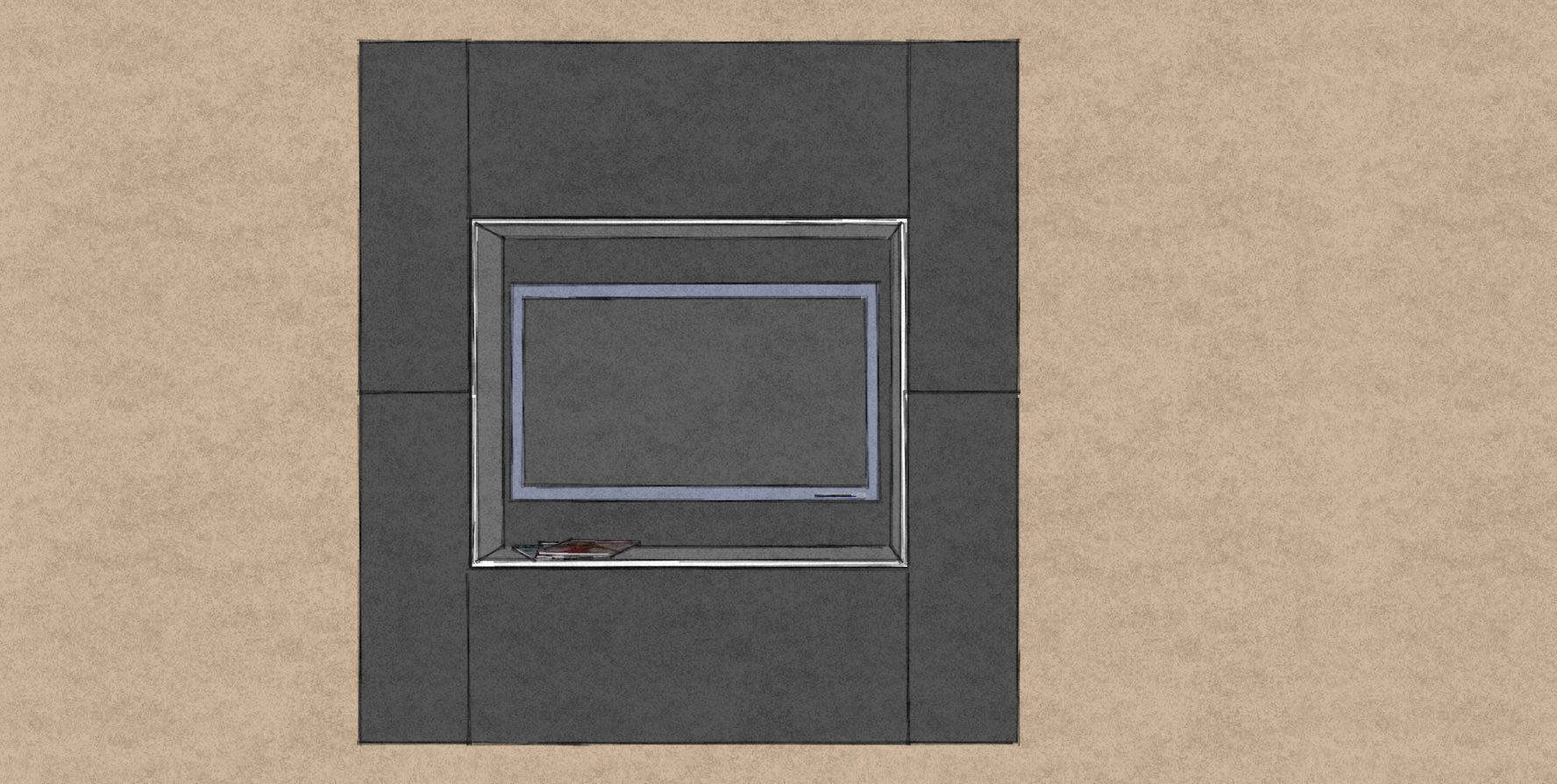 D6 square media wall design with grey cabinets and back panel.jpg