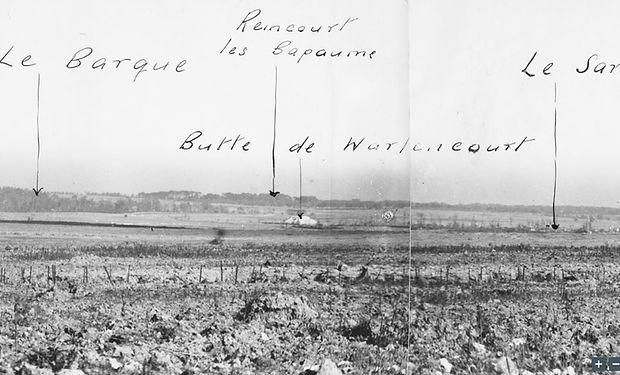 Butte de Warlencourt 16.10.16 from Stuff