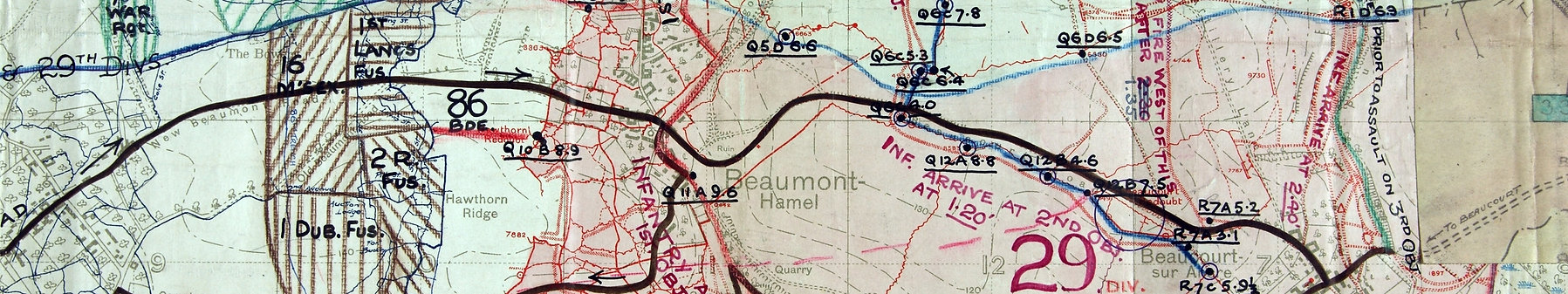 Hawthorn Ridge and Crater WW1