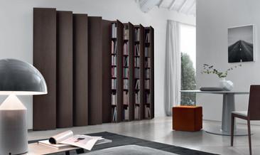 Jesse Aleph bookcase Therm Oak