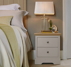 Kindred 2 drawer classic bedside