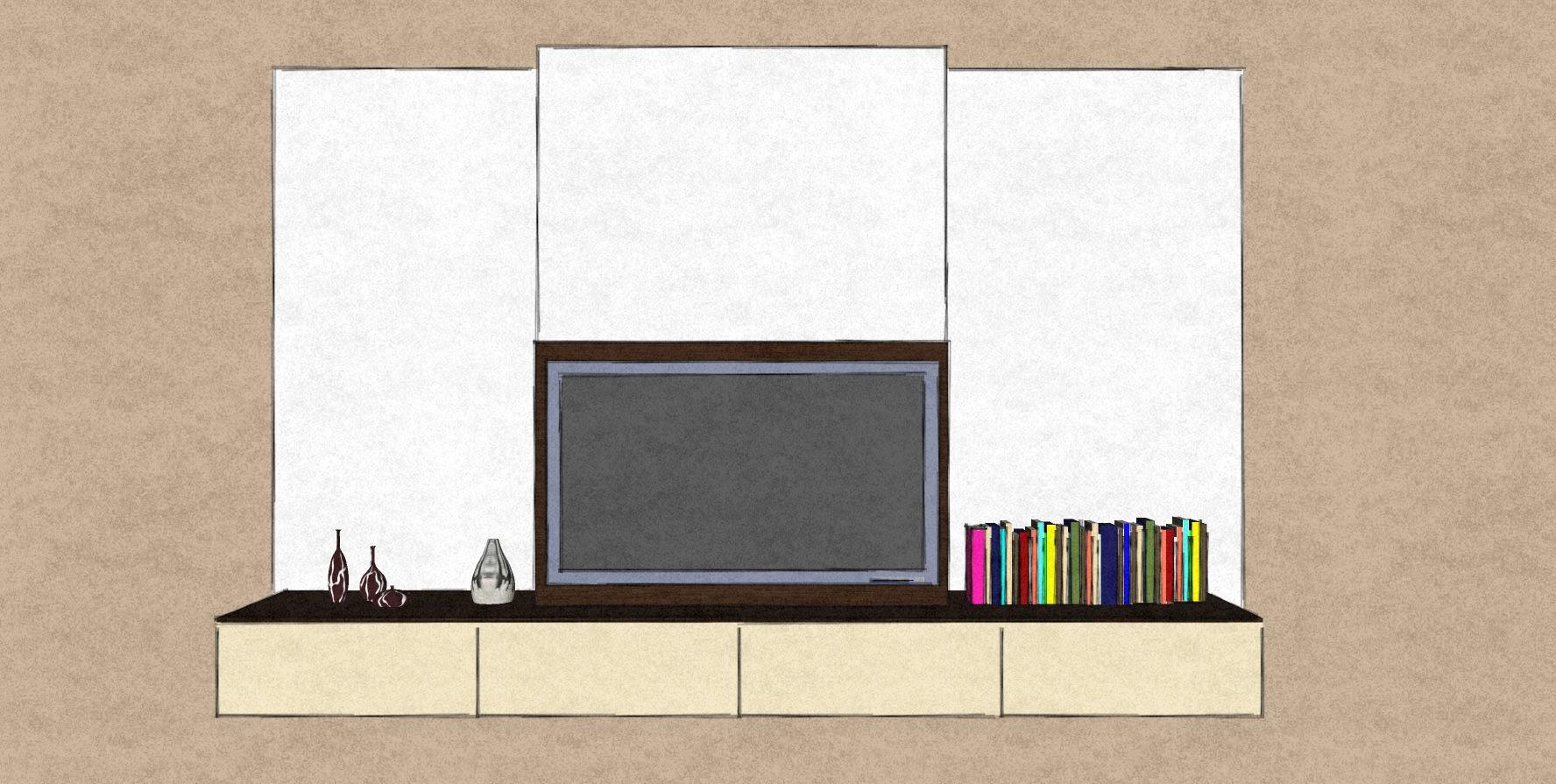 D13 floorstanding media cabinets around fireplace Therm Oak and matt lacquer.jpg