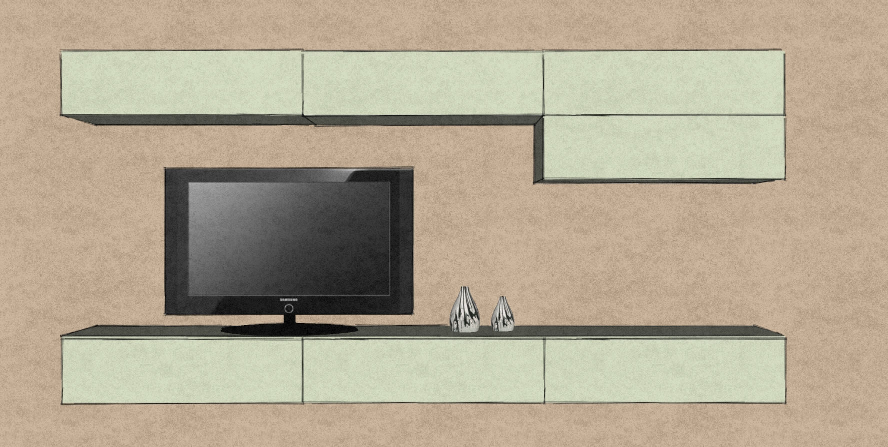 D16 hanging media storage cabinets in matt lacquer.jpg