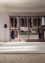 NAKED walk in wardrobe simple elegance and storage