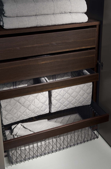 Jesse pull quilted baskets