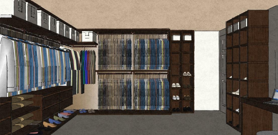 D46 open style Scenario range dressing room