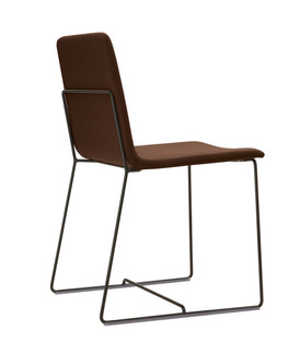 Tully leather chair