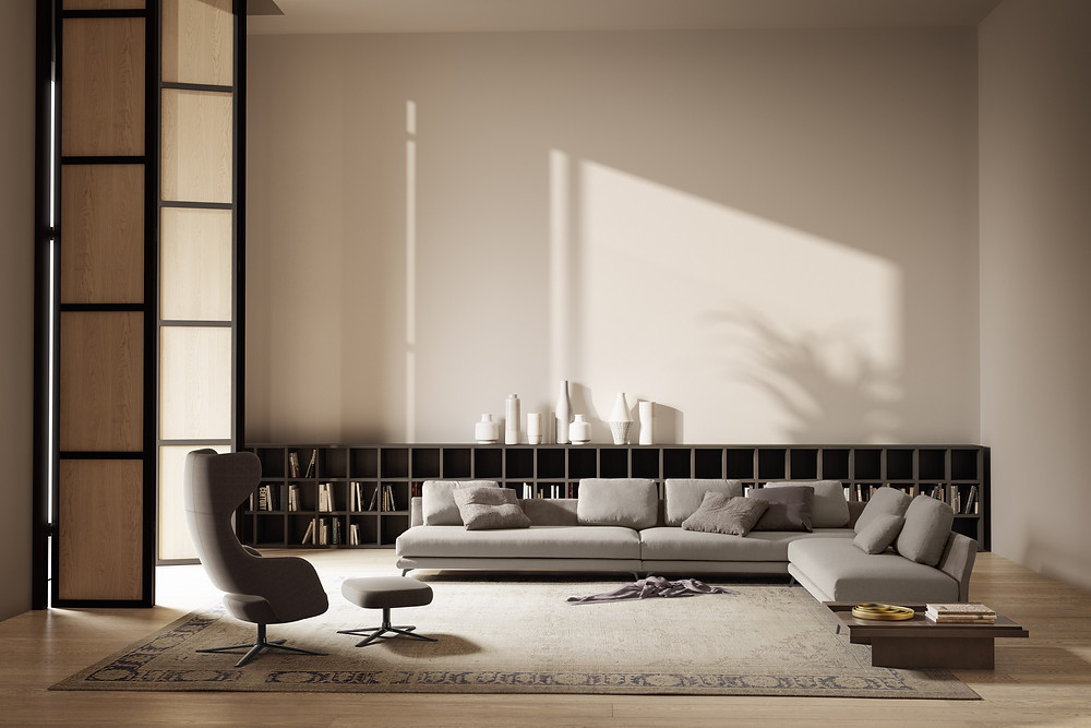 Beautiful modern Italian furniture for your living room..