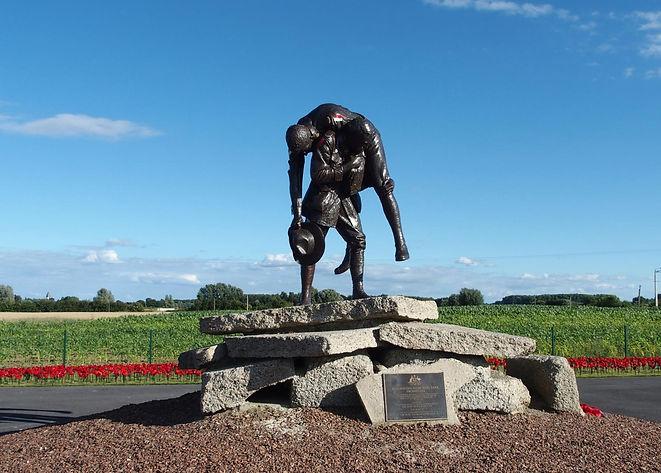 Cobbers Memorial Fromelles.jpg