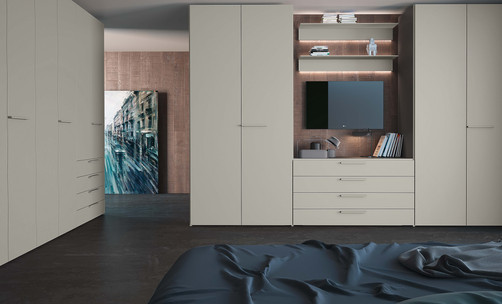Jesse PLANA M05 hinged door wardrobes