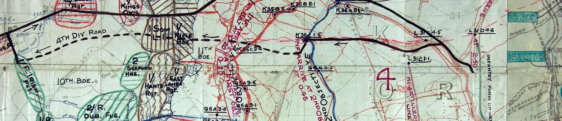 Beaumont Hamel WW1
