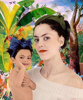 ICONE - Sarah Anton & Louise, fille