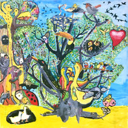 L'arbre à oiseaux sauvages