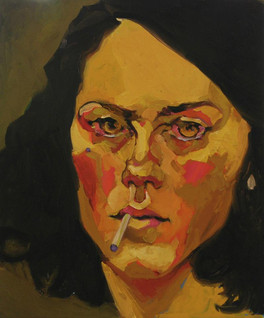 Cigarette - autoportrait, Berlin 2010