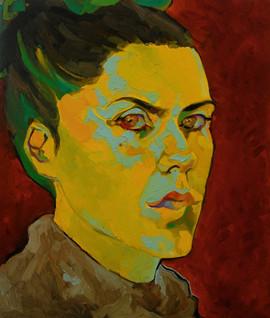 Sarah Gogh - autoportrait, Berlin 2010