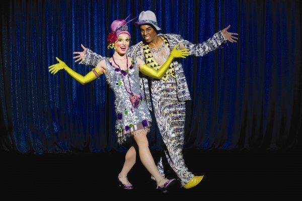 Cirque du Soleil's Banana Shpeel