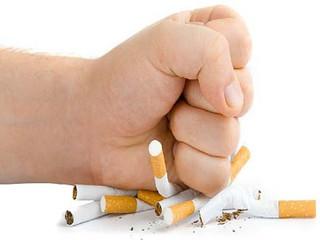 Com o passar do tempo sem fumar