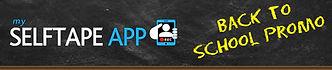 My Selftape App Back to School Promo