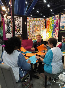 Quilt Festival Booth 2018