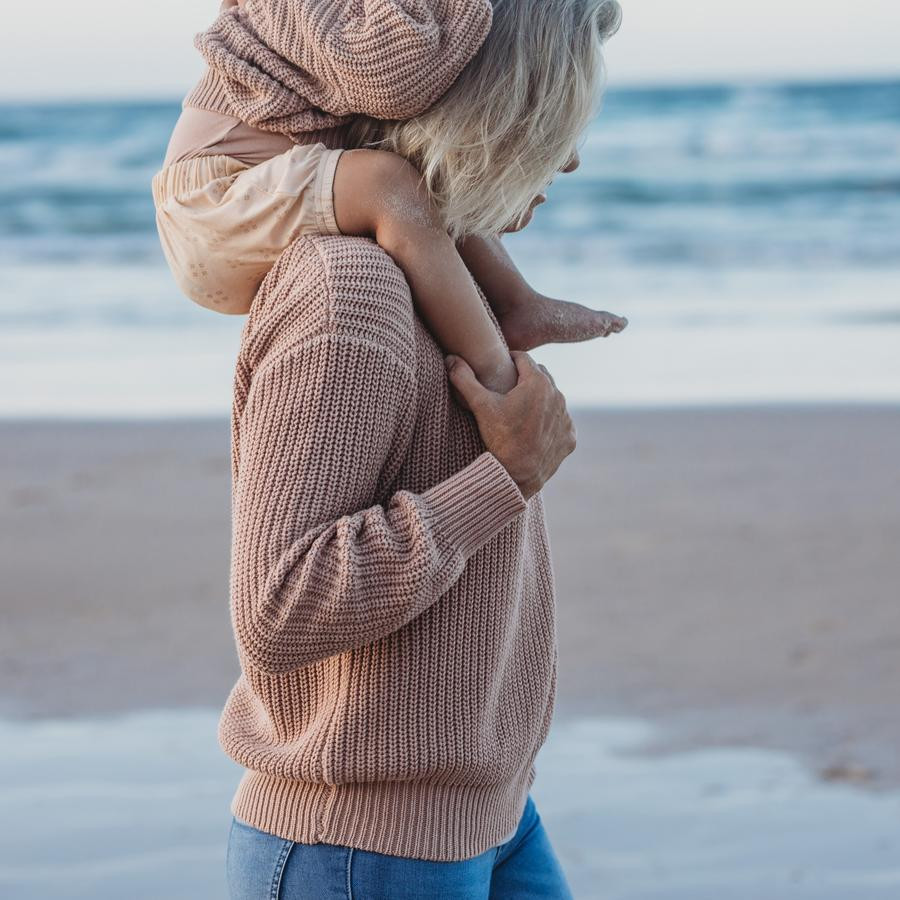 Natural Knit Womens and Childrens Wear. Sunshine Coast