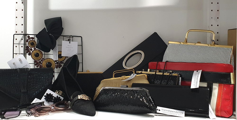 Stop in to Via Indipendenza today, who knows what you might find, shoes, vintage bags, jewellery, Jacinta Emms
