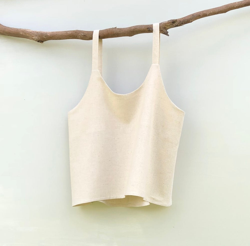 Simple Linen Handmade Top, Australian Designer Sunday Dreaming the Label