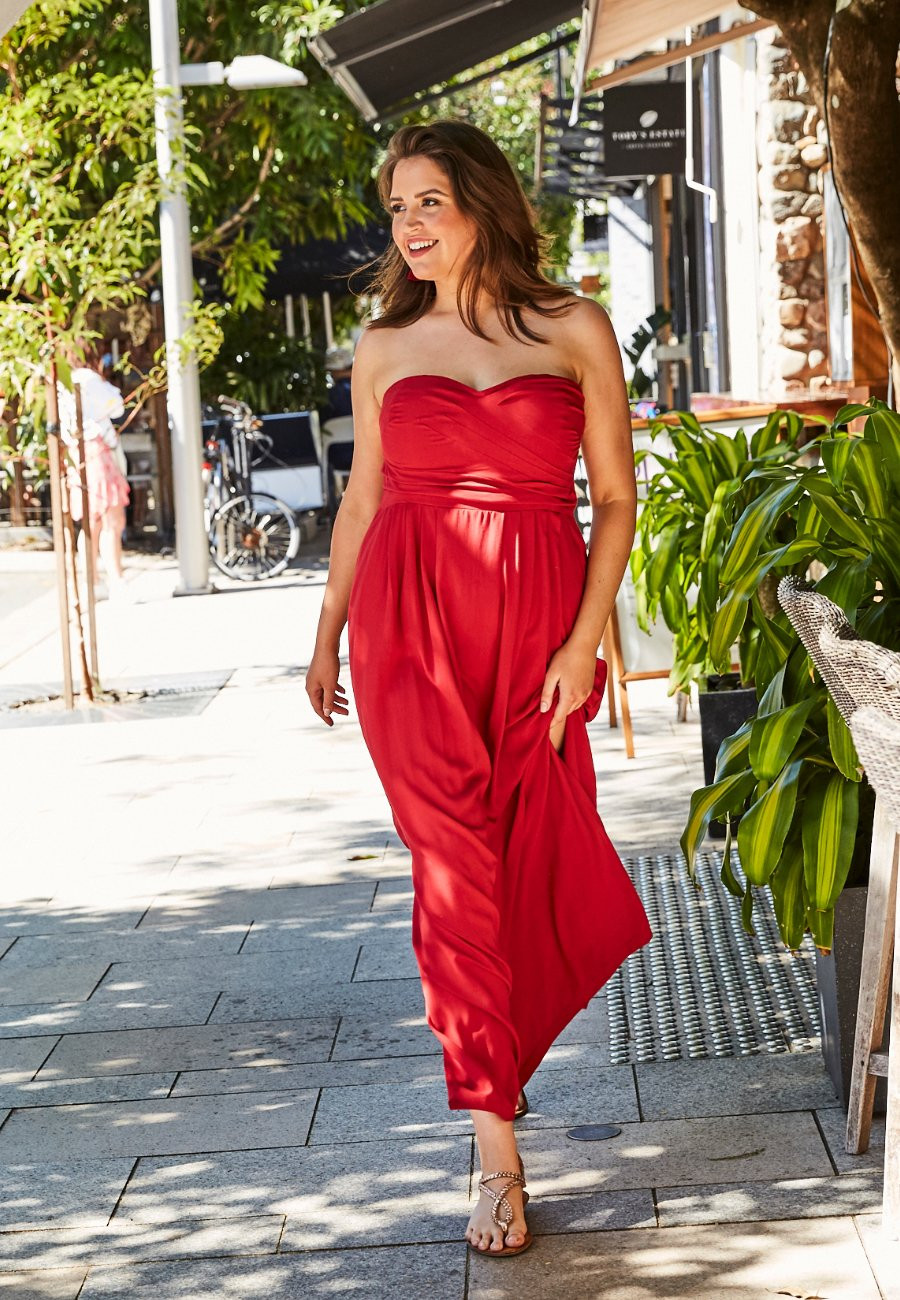 Red Dress Noosa Fashion Designer