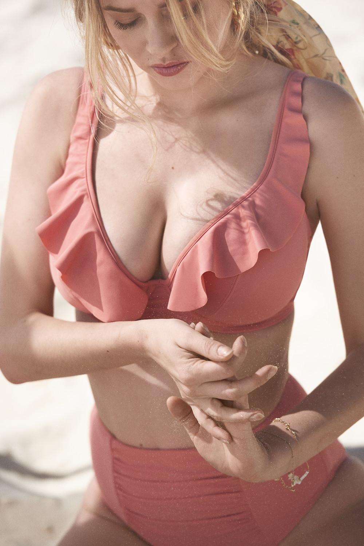 Frill Bikini For Larger Bust