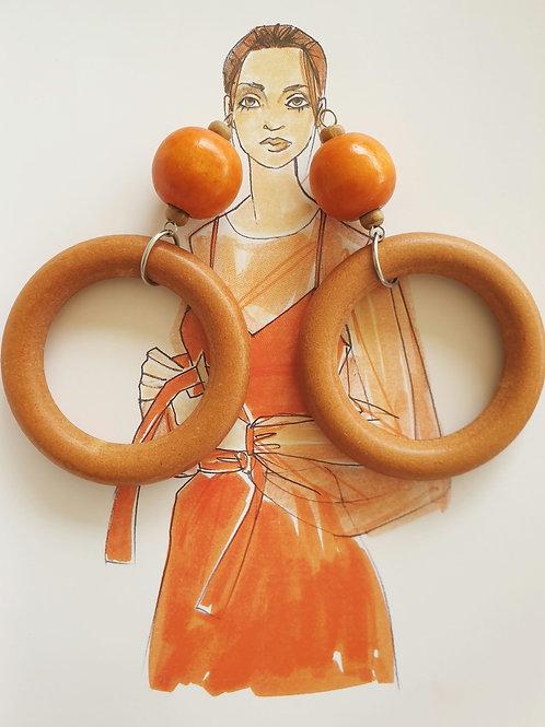 Hanging Round - Orange