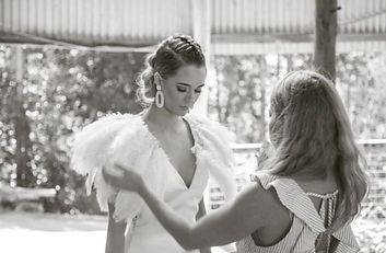 Luna Willow Bridal Fashion Shoot Styled By Jacinta Emms