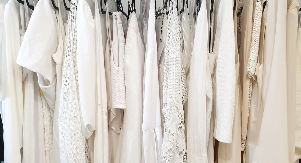 Colour co-ordinated wardrobe - Via Indipendenza, Jacinta Emms