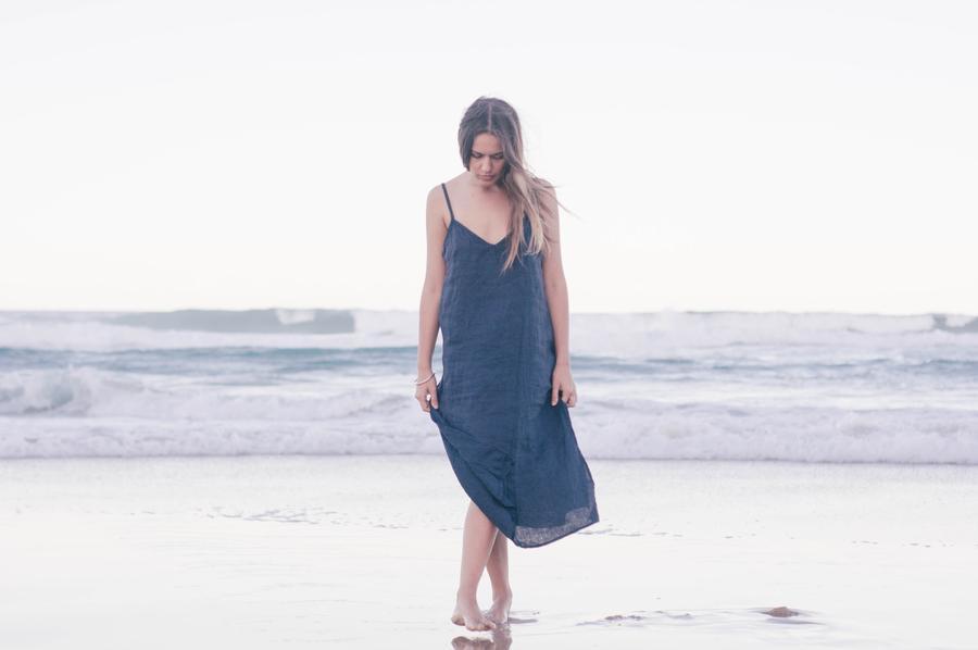 Sustainable Luxe Linen Slip Dress