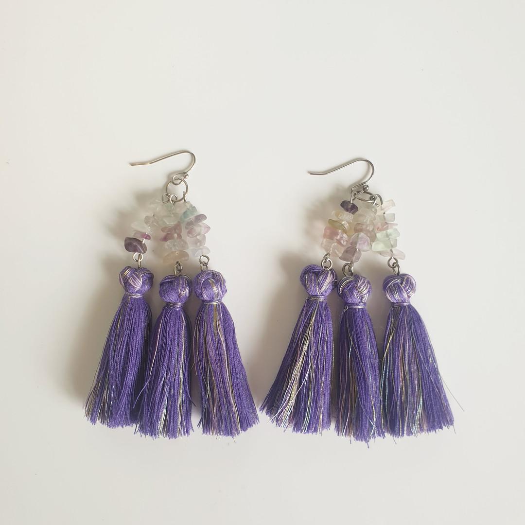 Onyx Poppy - Jacinta Emms - Envy Purple.