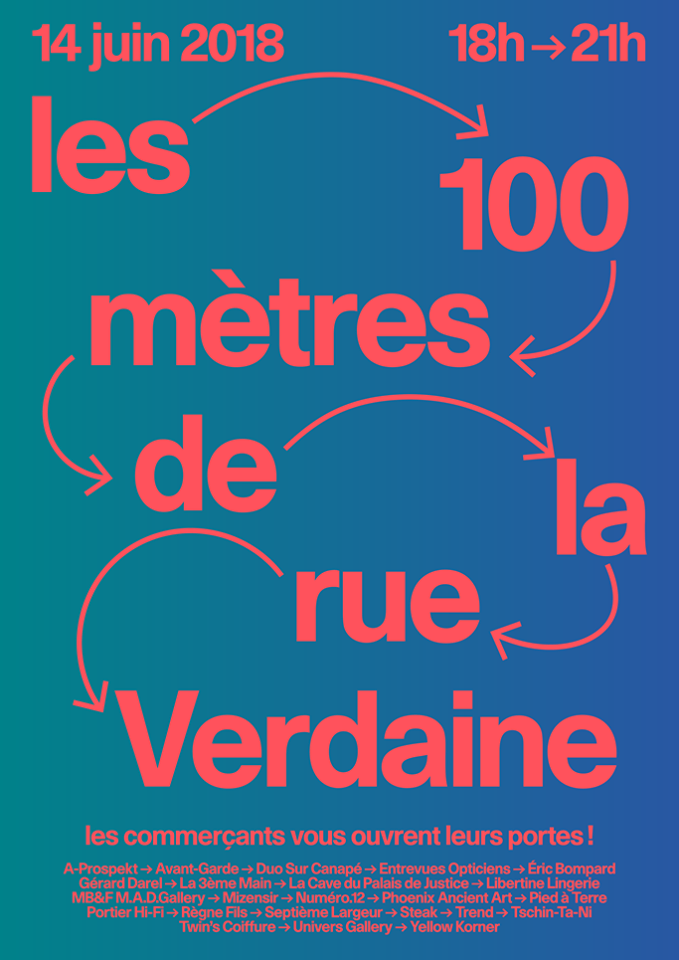 Les 100 mètres de la rue Verdaine Genève