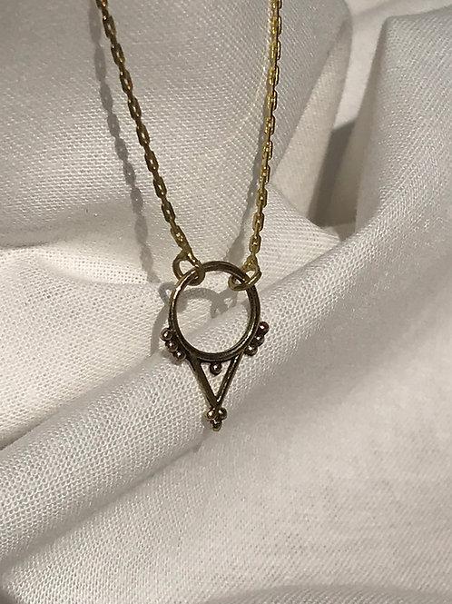 """Collier """"Mini septum triangle"""""""