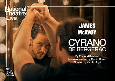 NTL 2020 - Cyrano de Bergerac -Artwork-