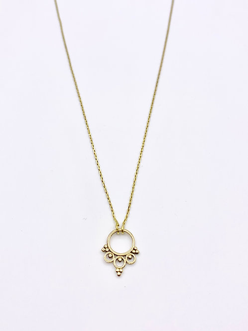 "Collier ""Mini septum flower"""
