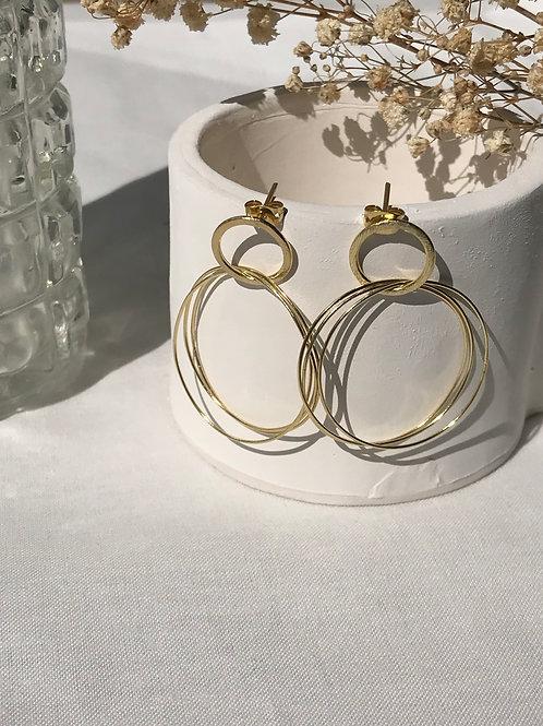 """Boucles d'oreille """"Rings"""""""