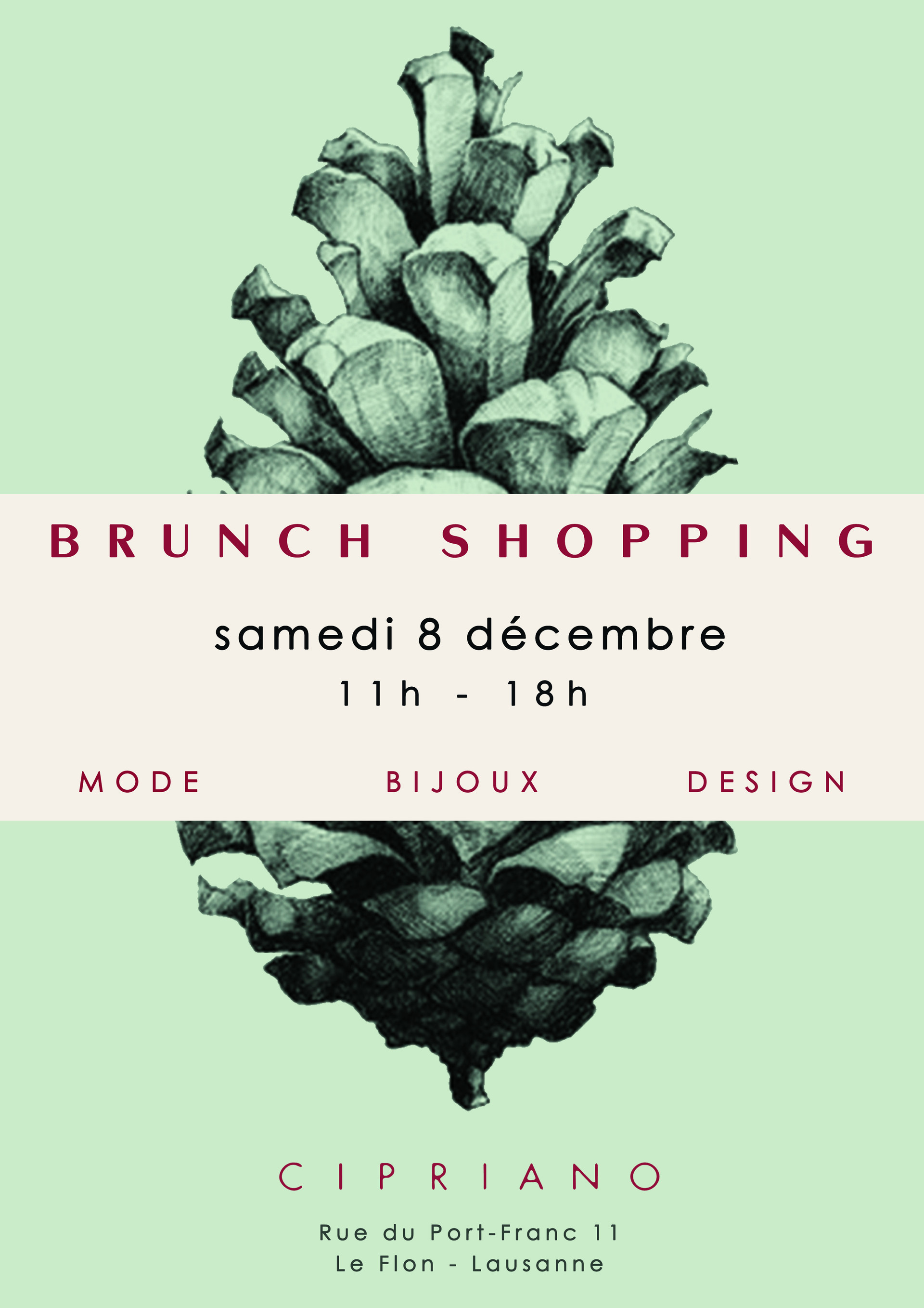 Brunch-Shopping Lausanne