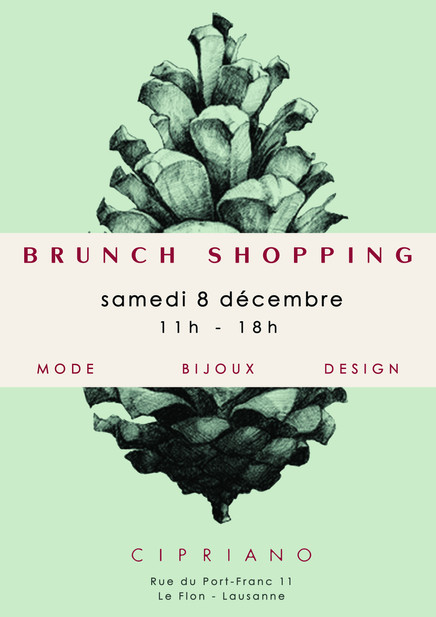 Brunch-Shopping Lausanne