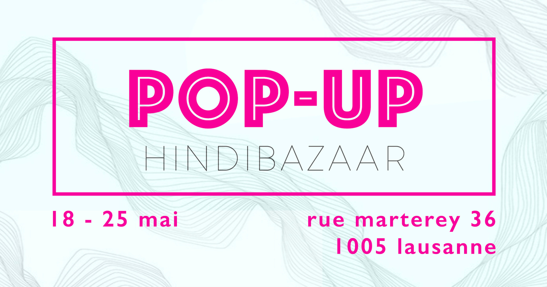 Pop-Up Hindi Bazaar