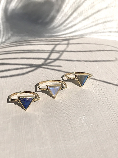 "Bague ""Triangle"""