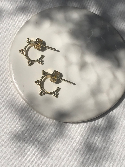 """Boucles d'oreille """"Mini septum"""""""