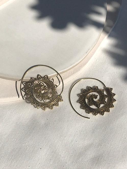 """Boucles d'oreille """"Lotus"""""""