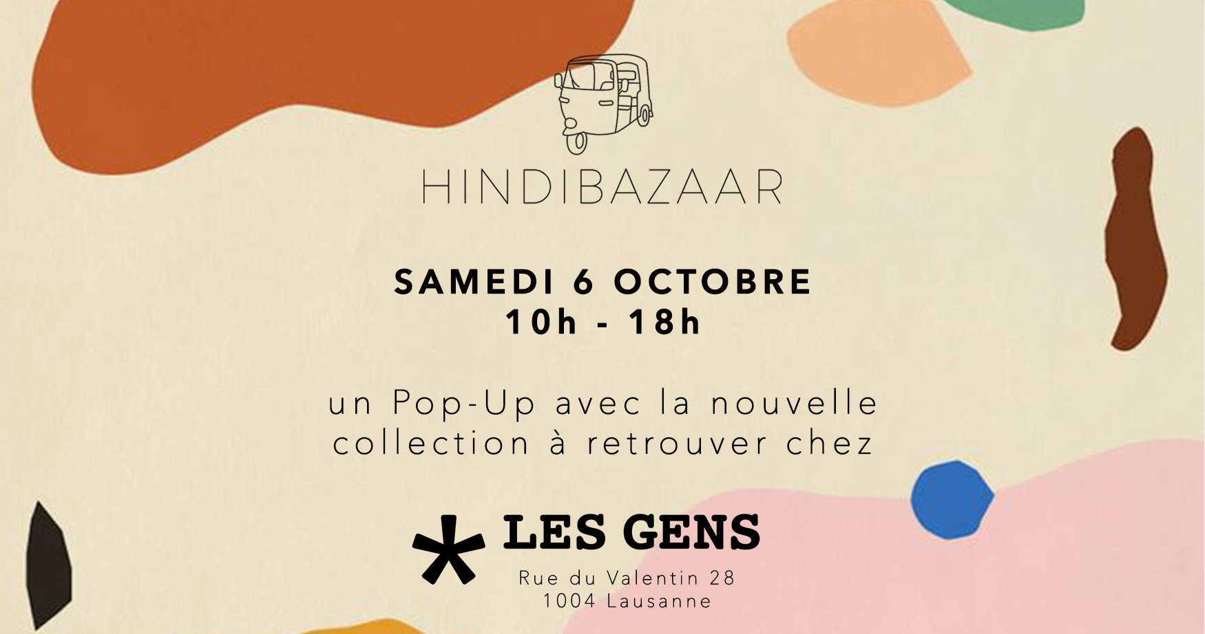 Hindi Bazaar x Les Gens