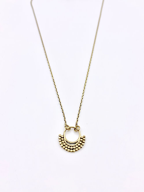 "Collier ""Mini septum wave"""