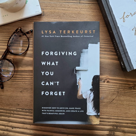 Forgiving What You Can't Forget Online Bible Study & Book Club